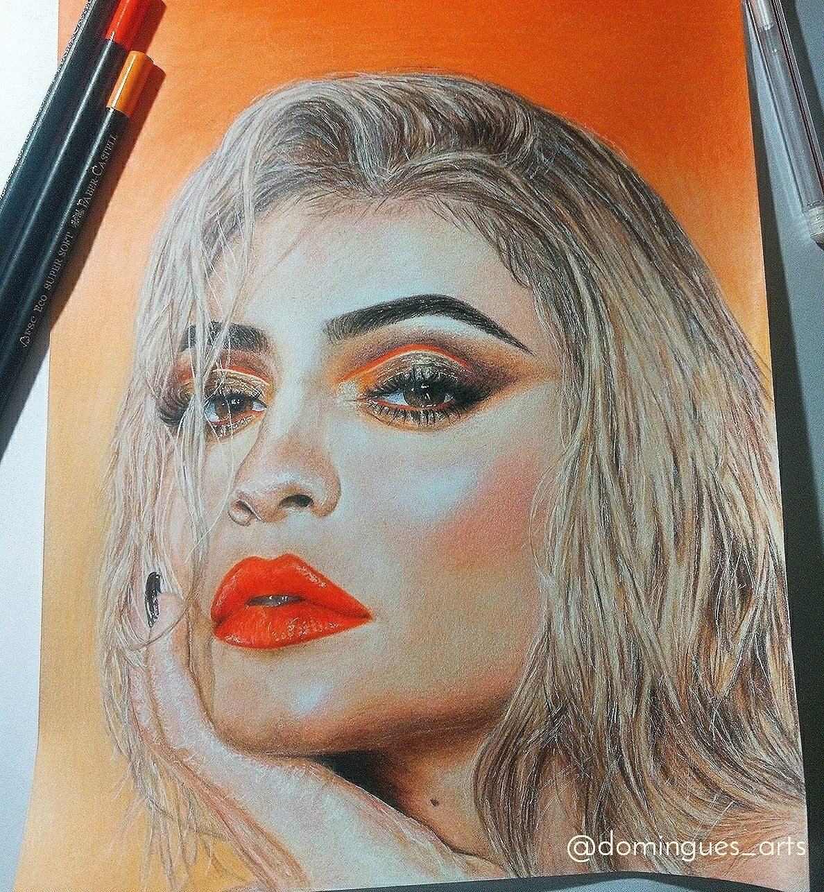 Kylie Jenner Drawing Inspirarte