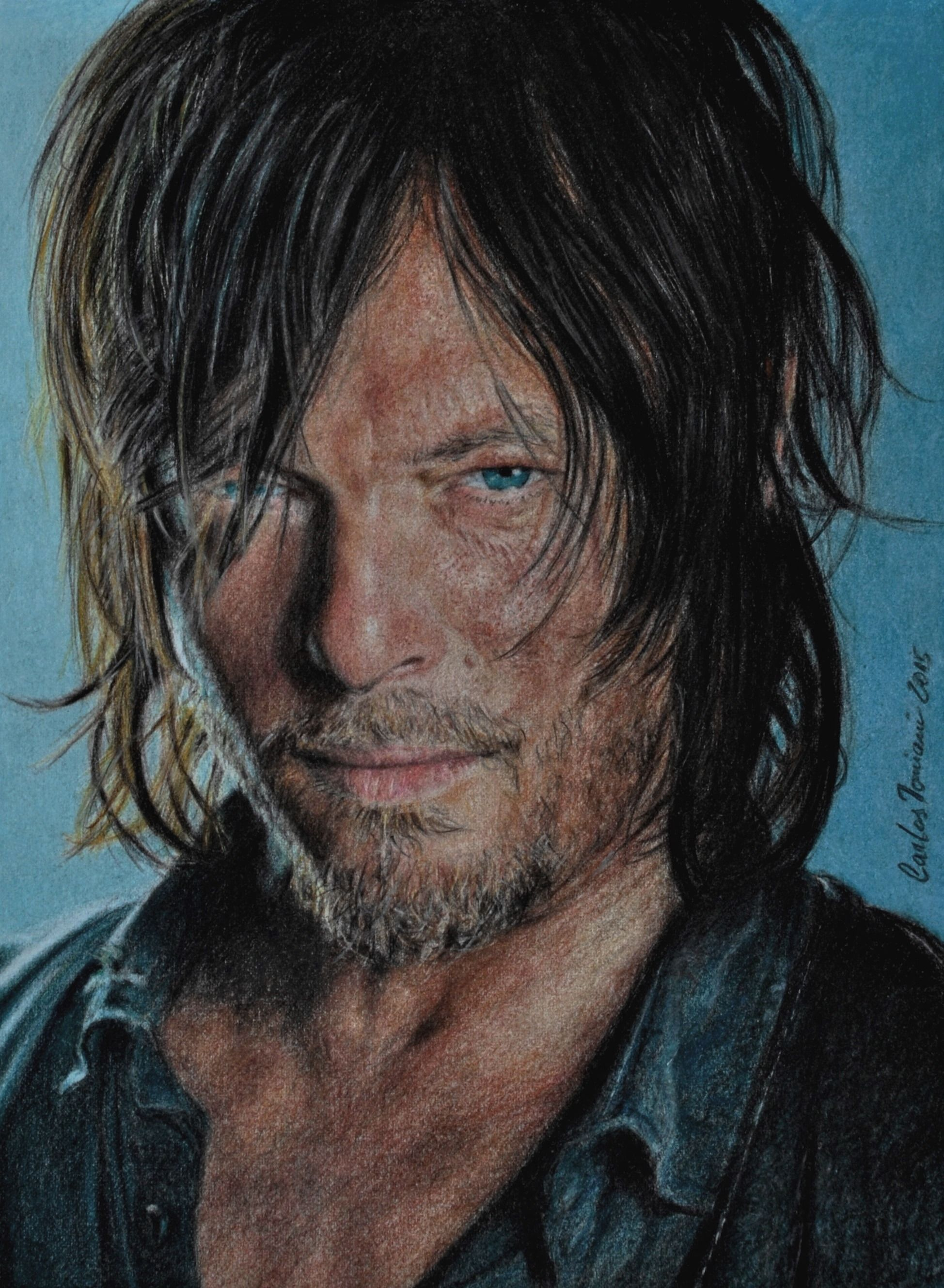 Norman Reedus Daryl The Walking Dead Inspirarte